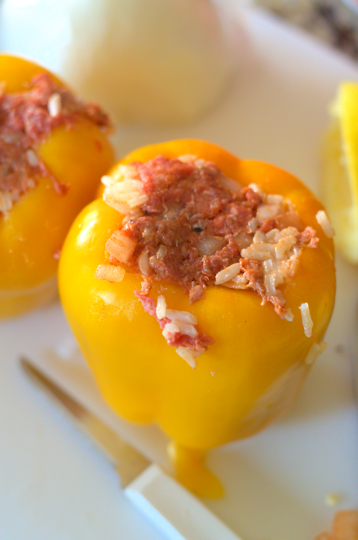 Plnena Paprika - Stuffed Peppers