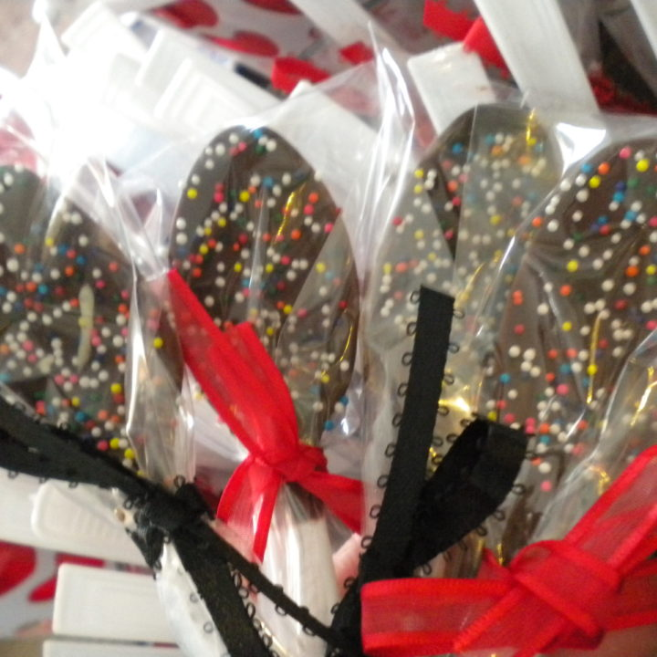 Chocolate Covered Spoons