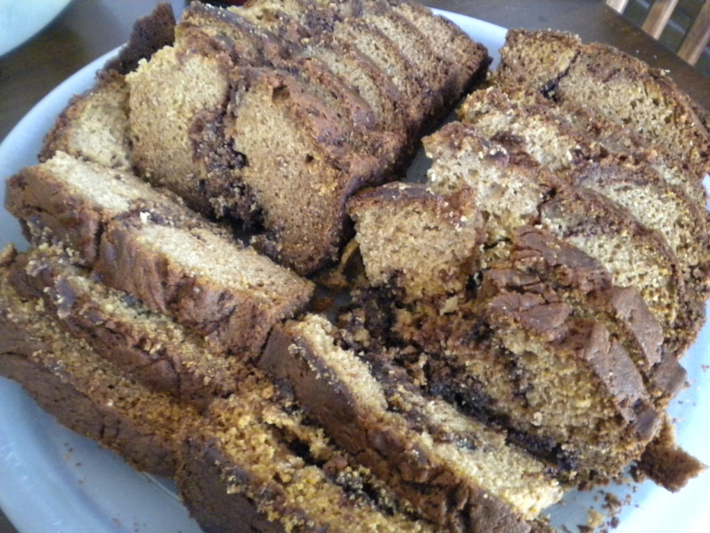 Pumpkin Nutella Bread – Fall Fest FN Dish