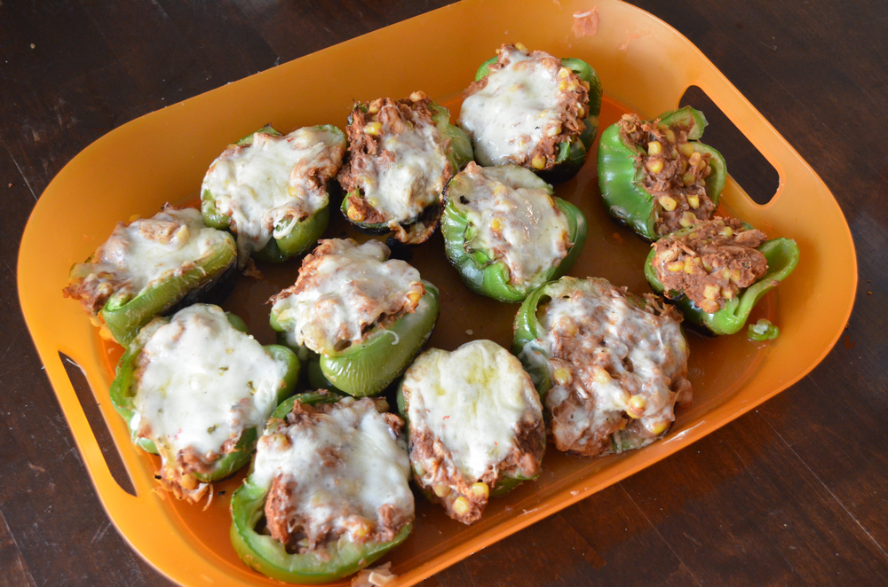 Grilled Southern Stuffed Peppers