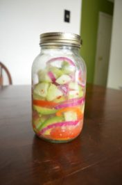 Vivid Salad in a Jar