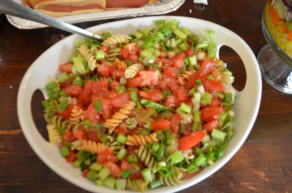 ... is a simple Summer salad recipe for Italian garden pasta salad