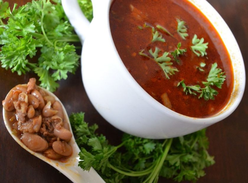 Smoked Chorizo Bean Soup