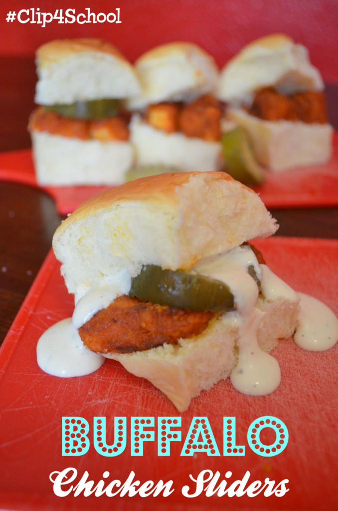 #ad Buffalo Chicken Sliders & Tyson's Project A+