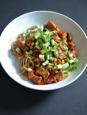 Chili Chicken & Peanut Noodles