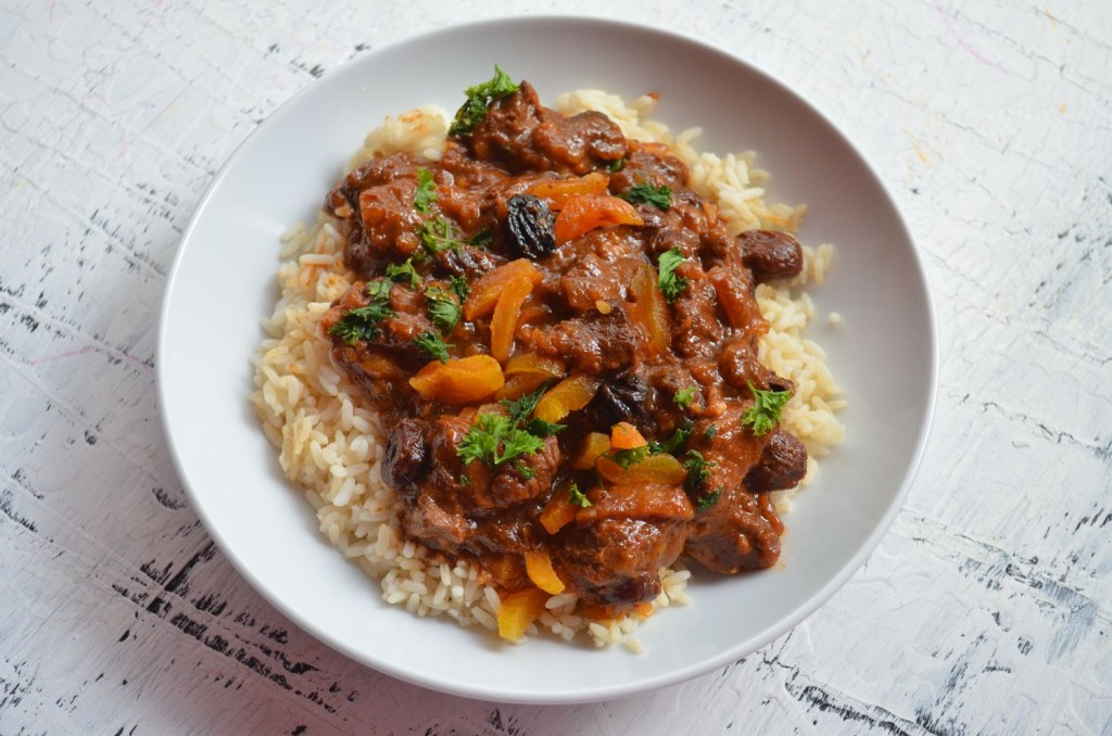 Moroccan Beef Stew