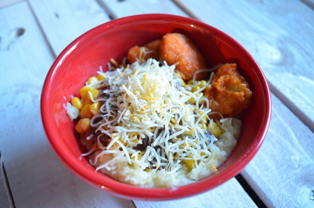 #ad Cheesy Chicken Bowls