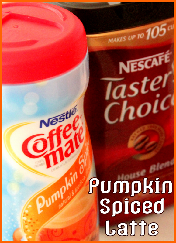 coffeemate pumpkin spice powder