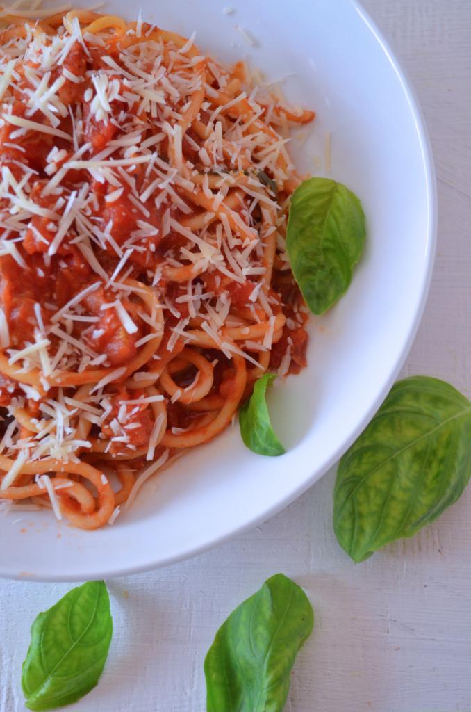 spaghetti all amatriciana