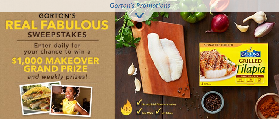 Gorton's Real Fabulous Sweepstakes