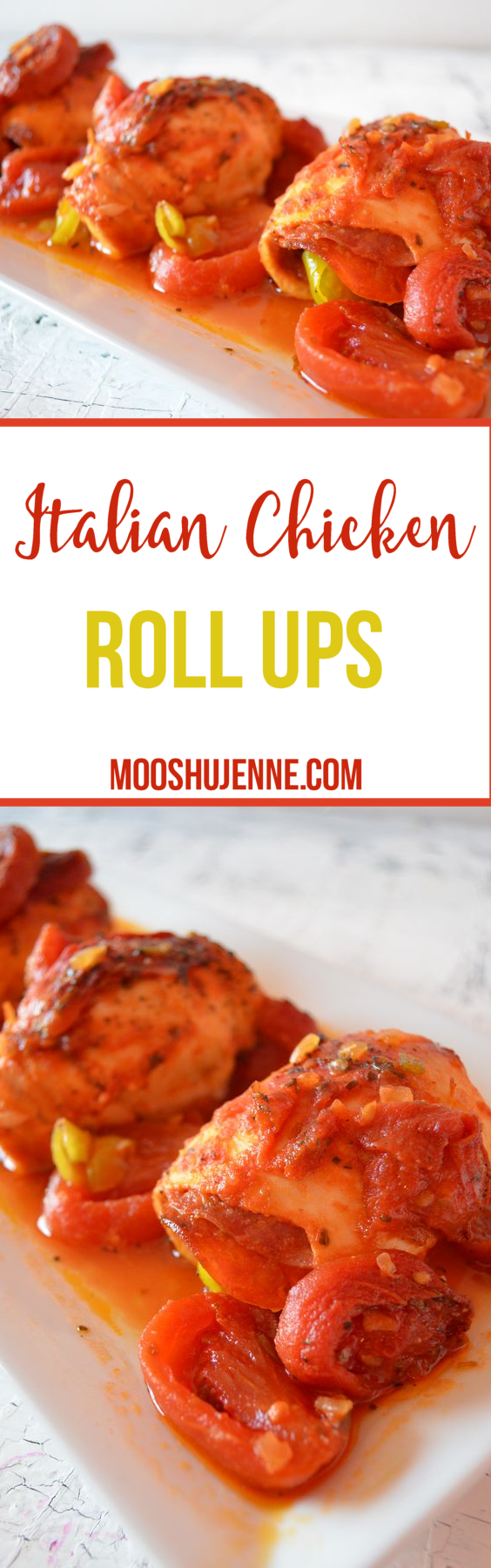 Italian Chicken Roll Ups