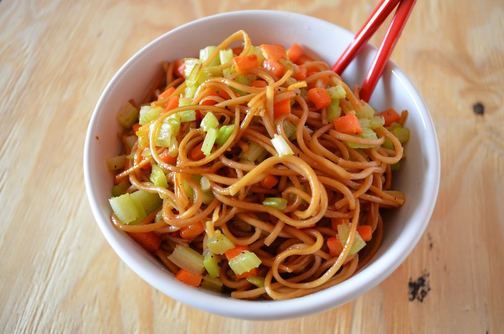 Chinese Lunar New Year - Vegetable Lo Mein - Mooshu Jenne