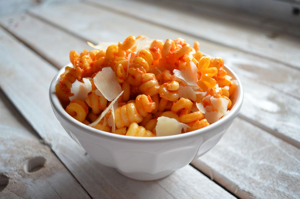 Red Pepper Fusilli | Mooshu Jenne
