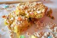 Lucky Charms Blondies