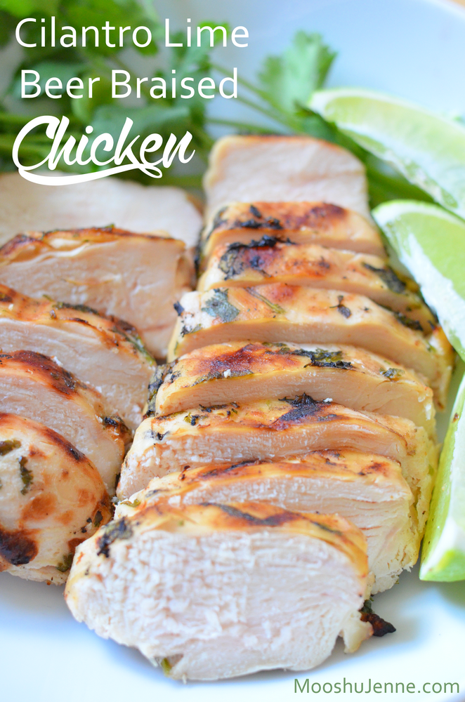 Cilantro Lime Beer Braised Chicken