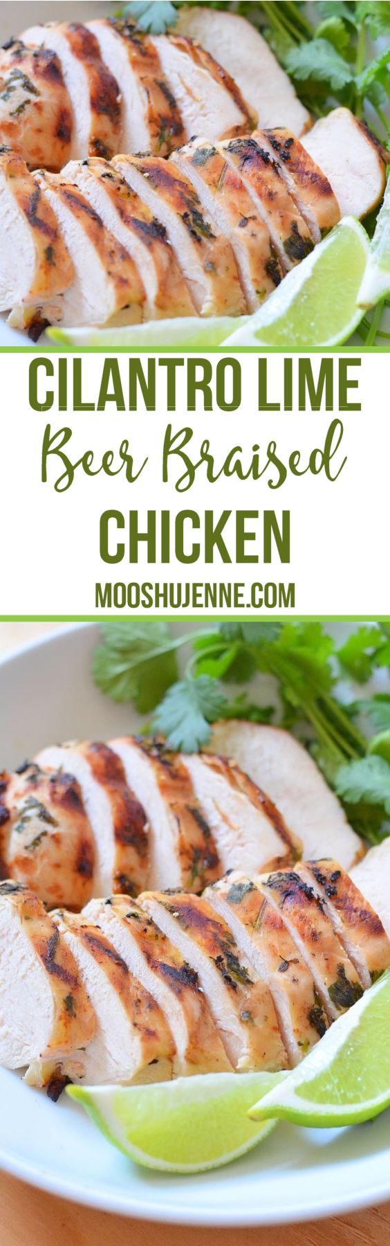I know this Cilantro Lime Beer Braised Chicken would be a great one in the slower cooker. It's fabulous on the grill!