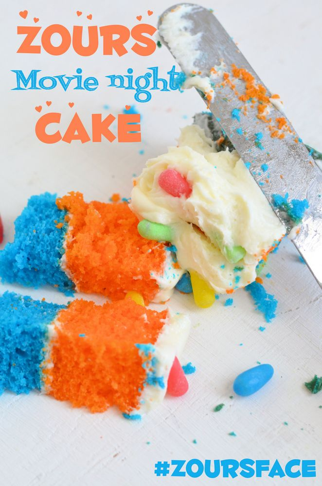 Zours® Movie Night Cake - Mooshu Jenne #zoursface #shop #cbias