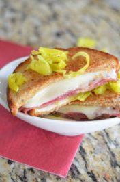 Roman Grilled Cheese Sandwich - Mooshu Jenne #Lunch #MC