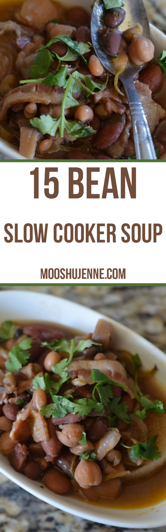 15 Bean Slow Cooker Soup