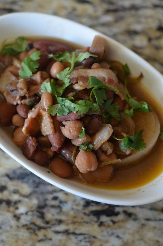 15 Bean Slow Cooker Soup - Mooshu Jenne