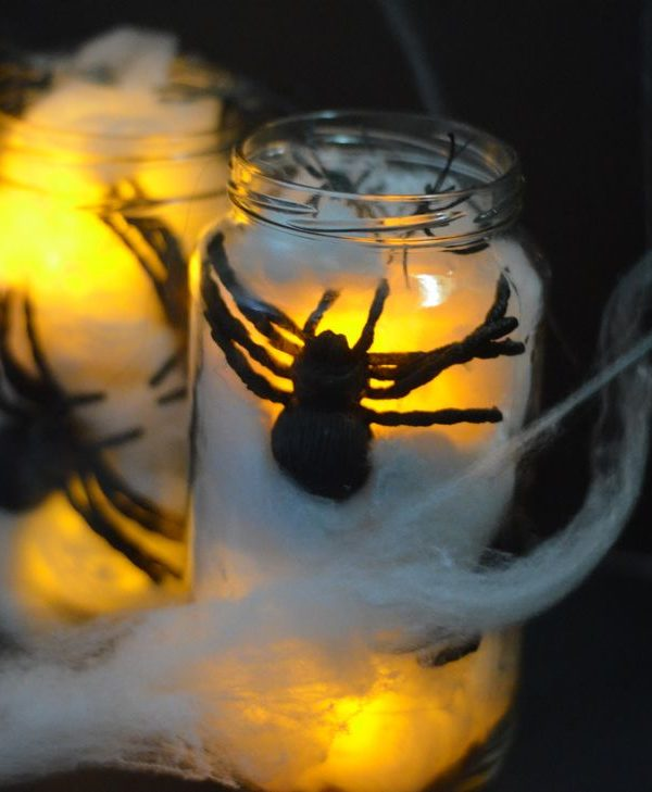 Creepy Crawler Spider Jars
