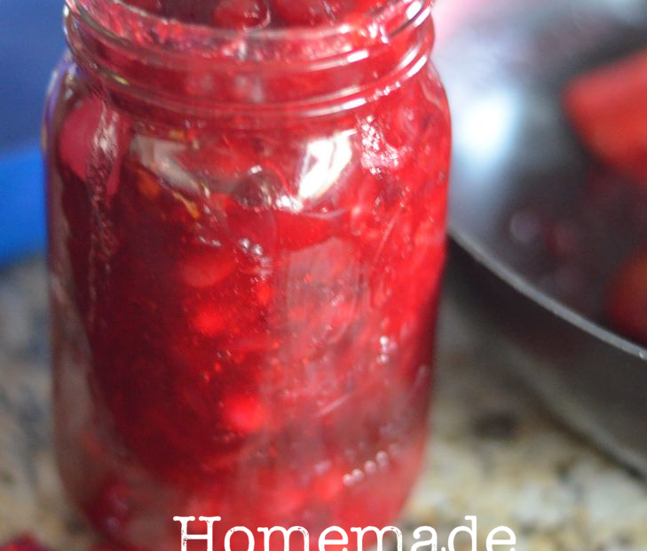 Cranberry Pie  & Cranberry Sauce