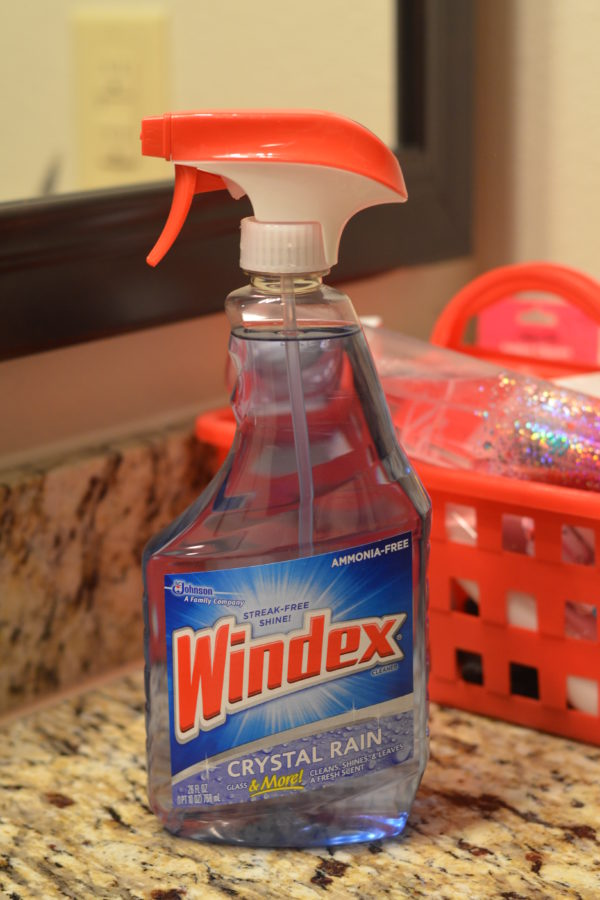 The Hubby Swears By Windex