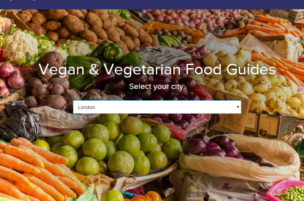 HouseTrip Vegan & Vegetarian Guide