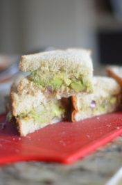 Avocado Tuna Sandwich - Mooshu Jenne #45DelightfulPeople