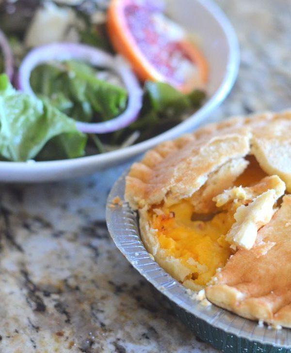 Blood Orange Salad with Marie Callender's Pot Pies
