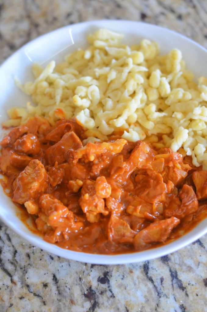 Chicken Paprikash With Nokedli (Csirke Paprikas) Recipes — Dishmaps