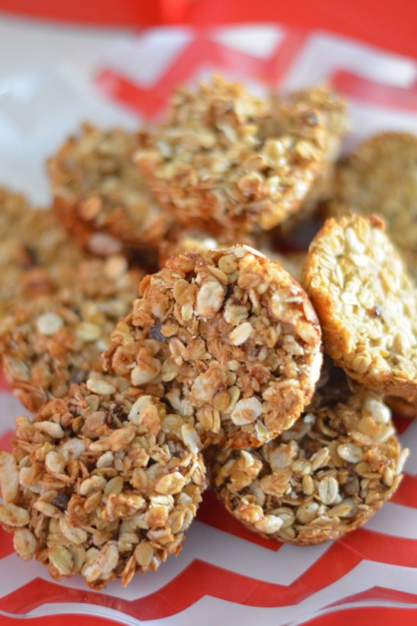 Honey Bunches of Oats Bake at Home Granola Snackers