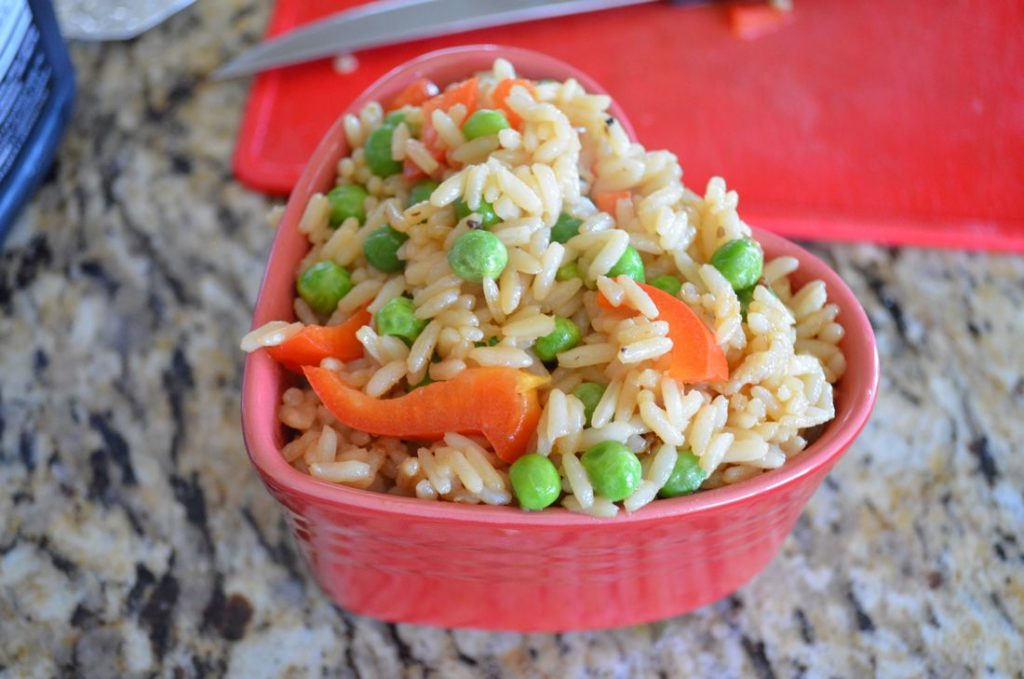 Red Pepper Fried Rice
