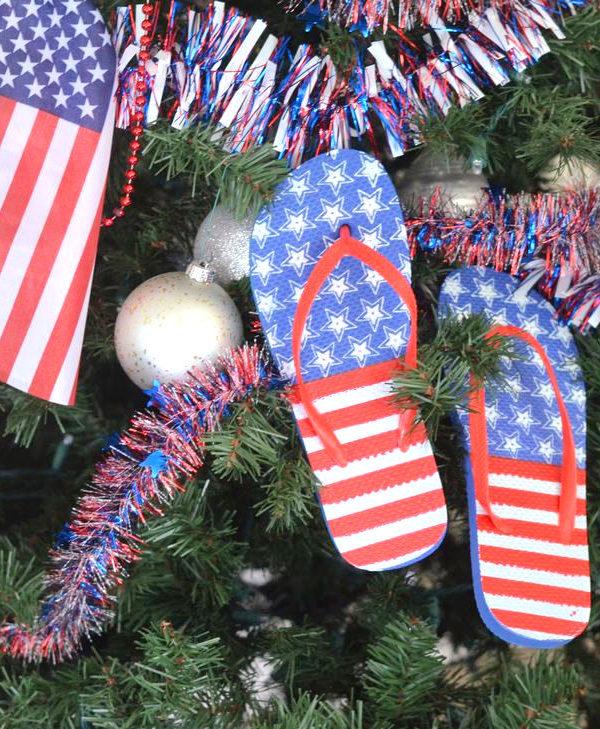 4th of July Patriotic Tree