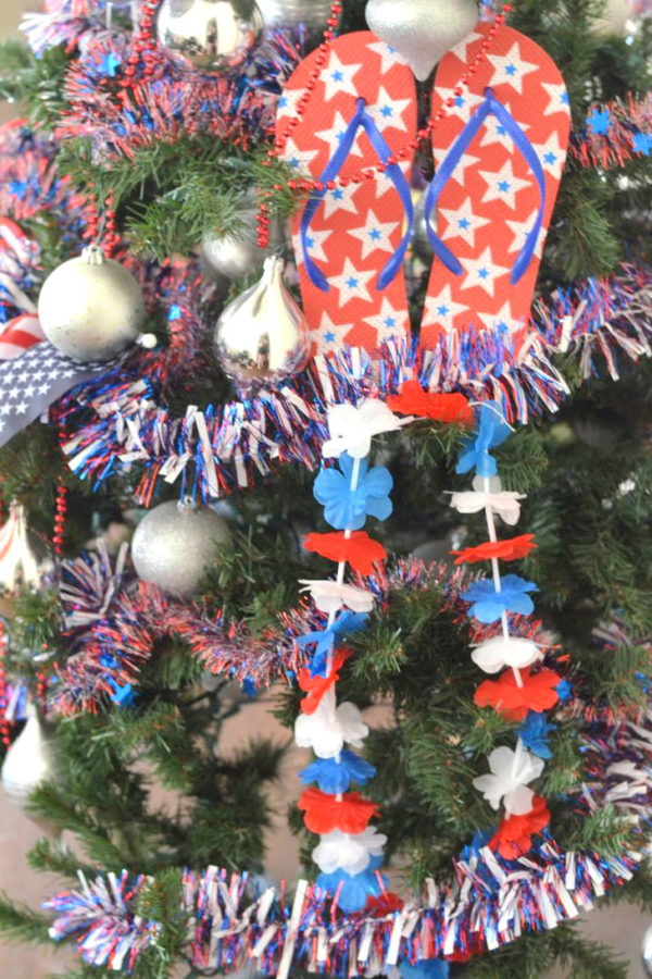 4th of July Patriotic Tree