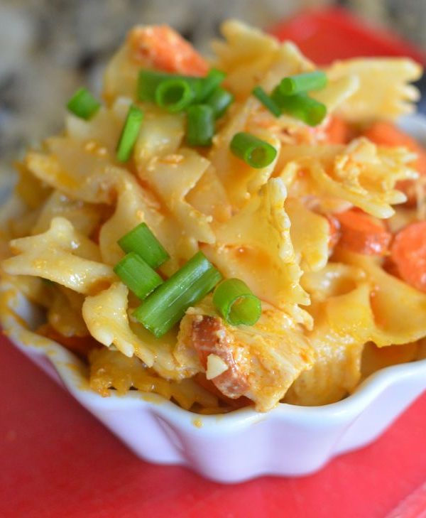 Buffalo Chicken Bowties