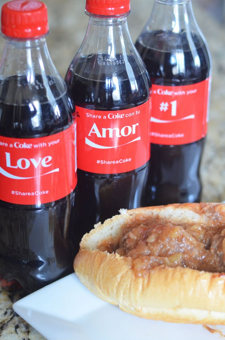 Coca Cola Barbacue Meatball Sandwiches By Mooshu Jenne #ShareSmiles #Ad