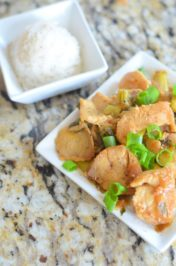Lemon Ginger Chicken by Mooshu Jenne