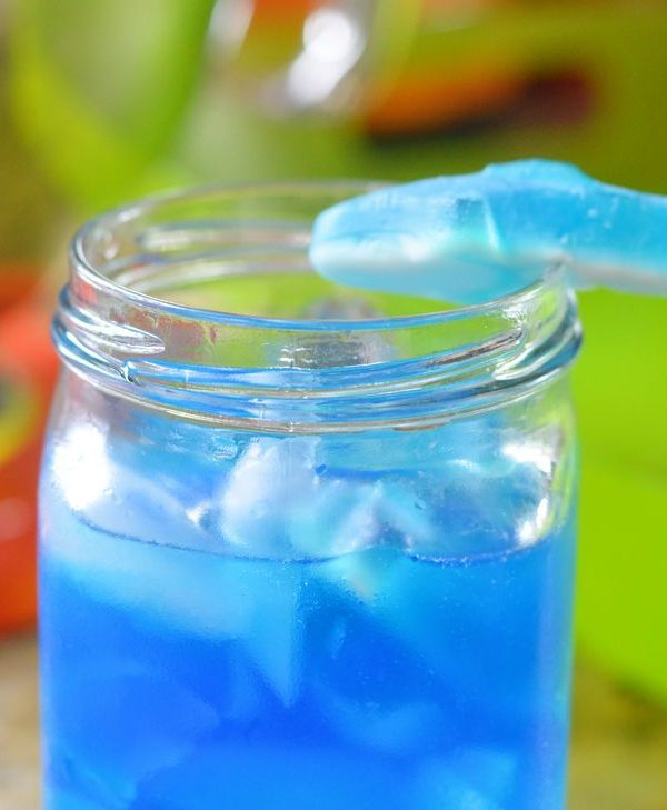 Blue Shark Attack Cocktail