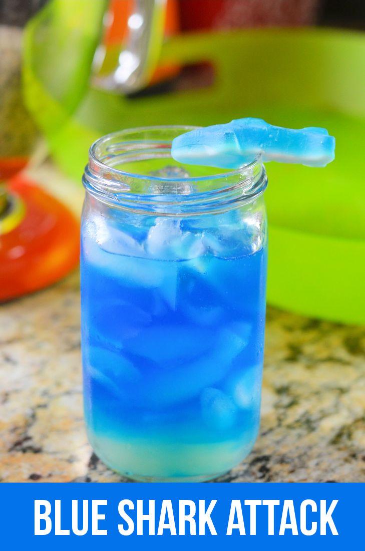 Mooshu Jenne: Blue Shark Attack Cocktail