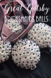 Great Gatsby Bridesmaids Balls