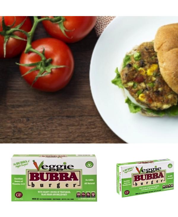 BUBBA Veggie Burgers