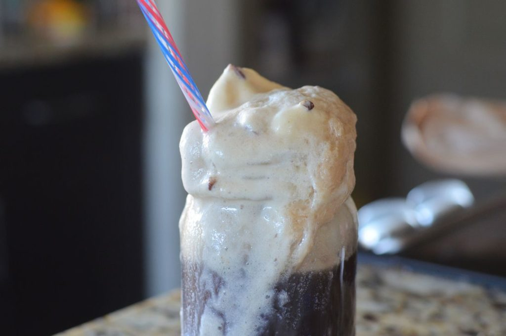 Buttered Pecan Pepsi Float