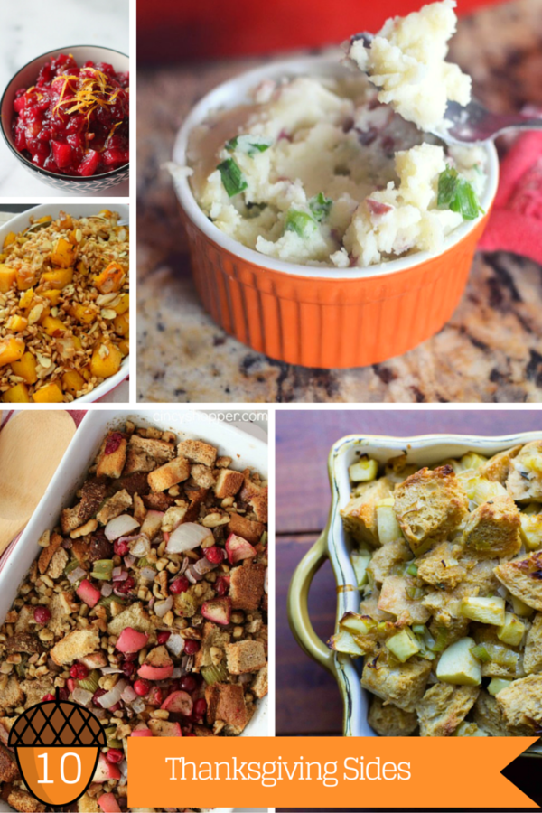 10 Last Minute Thanksgiving Side Dishes