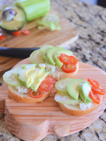 Mini Open Faced Sandwiches