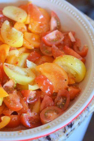 Farmer's Market Tomato Salad