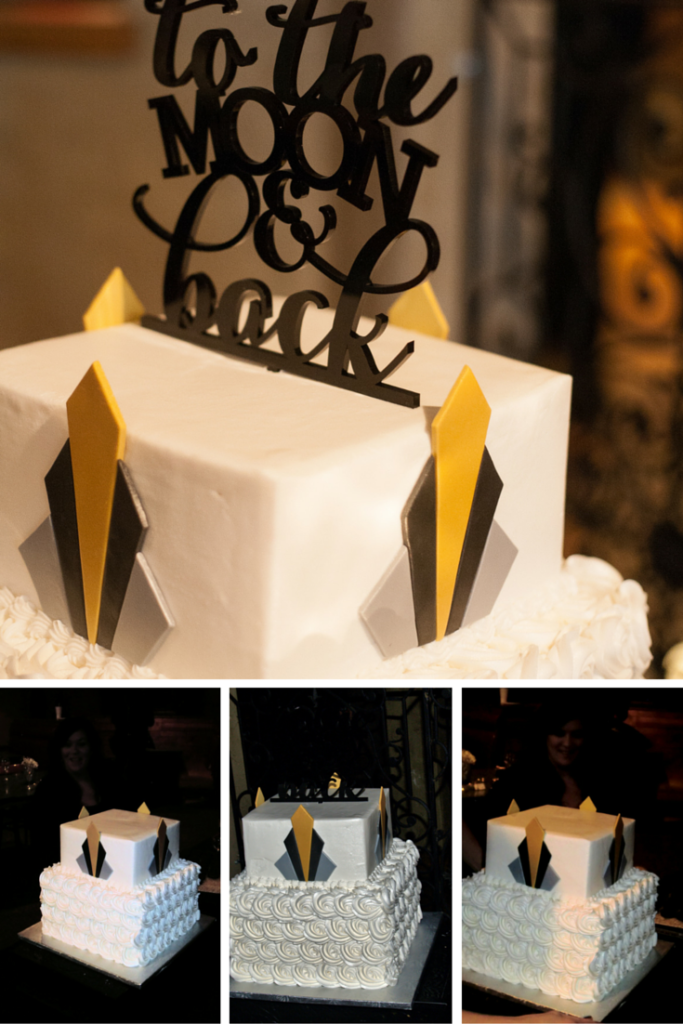 Great Gatsby Cake - Kopalek Wedding