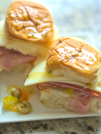 Muffuletta Sliders