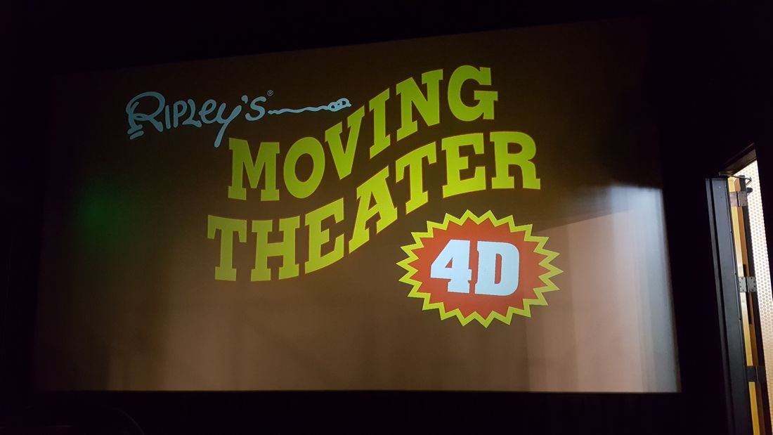 Ripleys Believe It Or Not - Moving Theater 4D - San Antonio