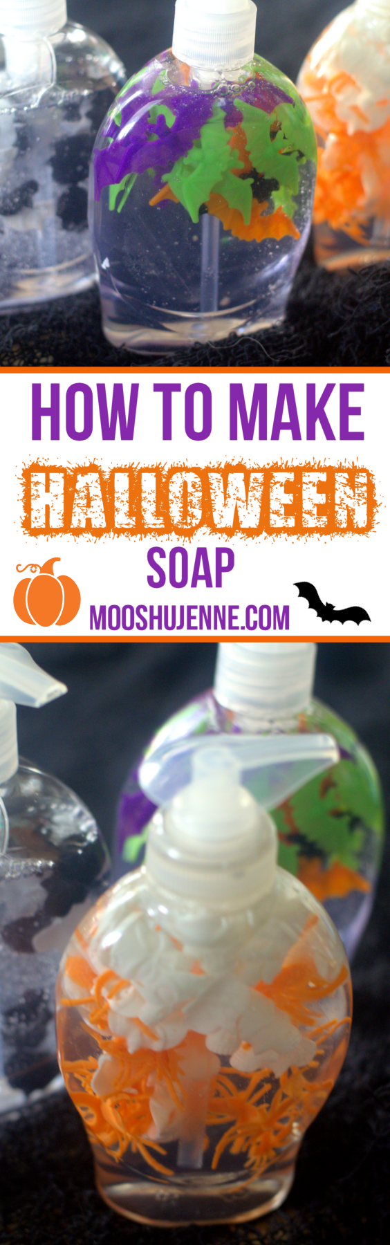 How To Make Halloween Soap with Halloween Novelty toys.